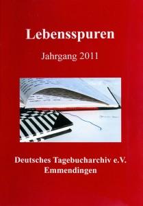 Tagebucharchiv Bild der Broschüre Lebensspuren Jahrgang 2011