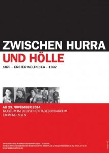 Plakat DTA Ausstellung 2014