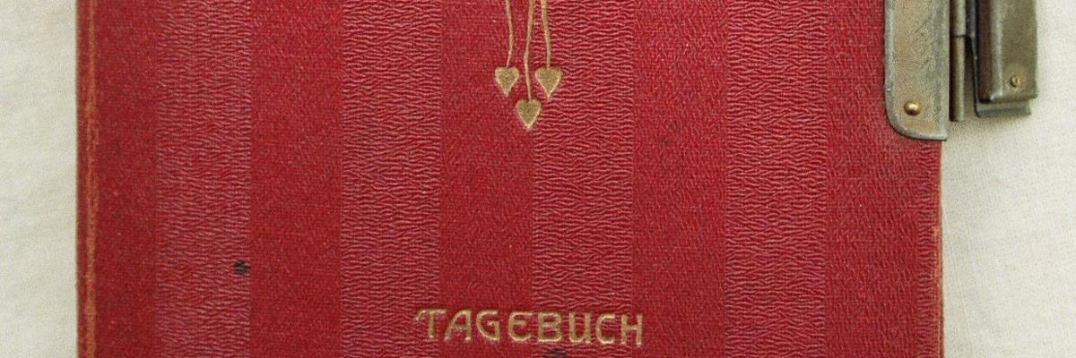 Bild eines Tagebuch