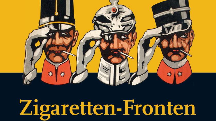 Buchdeckel Zigaretten-Fronten Jonas-Verlag