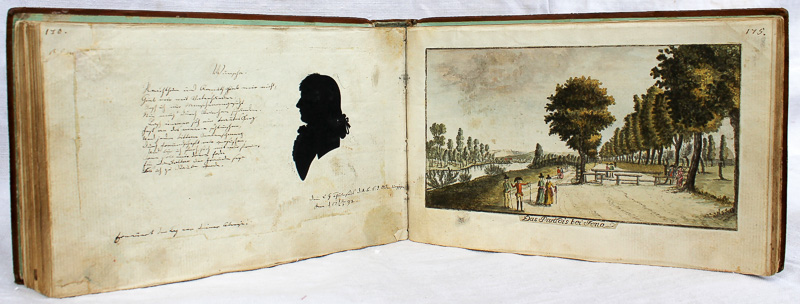 """Denkmal der Freundschaft"" ALBORVM AMICORVM, 1791 Jena"