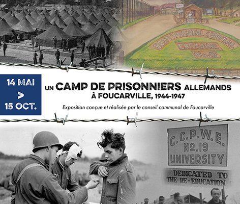 Un-camp-de-prisonniers-allemands-a-foucarville-1944-1947