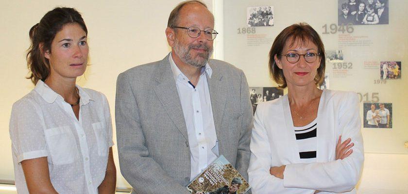 die Autoren Jeanne Guérout, Stefan Martens uns Aurélie Luneau