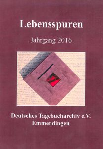 Tagebucharchiv Lebensspuren Jahrgang 2016