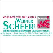Logo Scheer Raumausstattung