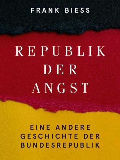 Bild des Buchtitels, Schwarz-Rot-Goldener Hintergrund aus gerissenem Papiervlies