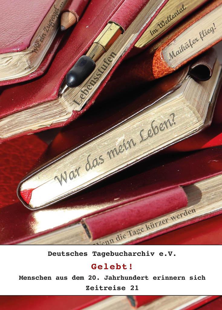 Titelbild mit Tagebuchrücken